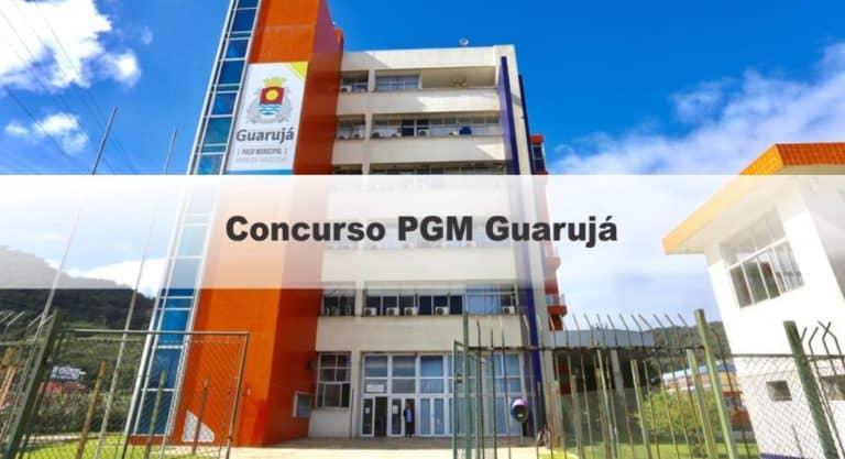 Concurso PGM Guarujá SP: Inscrições Encerradas