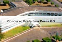 Concurso Prefeitura Ceres GO