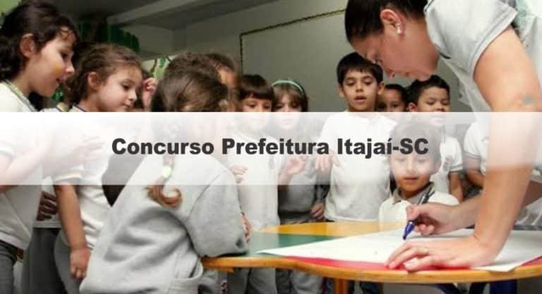 Concurso Prefeitura Itajaí-SC 2020: Provas em março para 81 vagas para Professores e Intérpretes