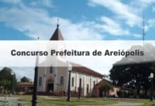 Concurso Prefeitura de Areiópolis SP