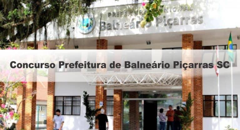 Concurso Prefeitura de Balneário Piçarras-SC: Provas suspensa