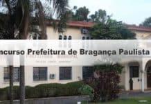 Concurso Prefeitura de Bragança Paulista SP