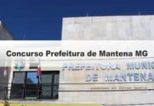 Concurso Prefeitura de Mantena MG