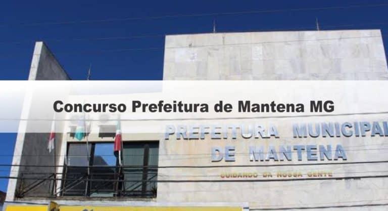 Concurso Prefeitura de Mantena MG: Saiu o Edital com 174 vagas