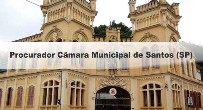 Concurso Câmara de Santos SP: Provas em Março