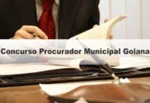 Concurso Procurador Municipal Goiana