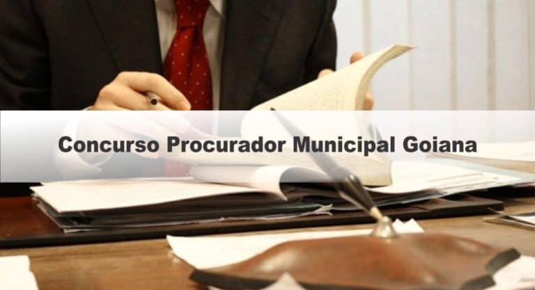Concurso Procurador Municipal Goiana PE