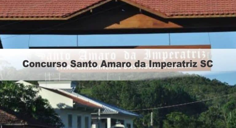 Concurso Santo Amaro da Imperatriz SC: Gabarito Provisório