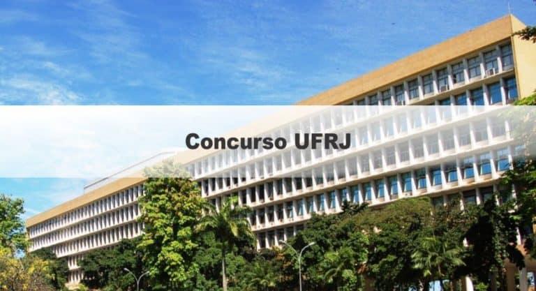 Concurso UFRJ 2020: Com 114 vagas