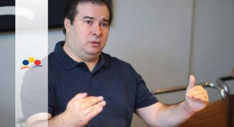 """""""Concurso público não pode ser a garantia de estabilidade"""", diz Rodrigo Maia"""