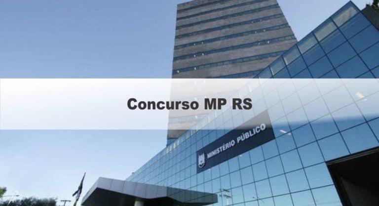 Concurso MP RS 2020