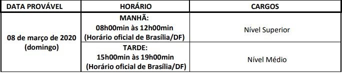PROVAS CONCURSOCLIN RJ - Processo Seletivo AMAZUL 2020