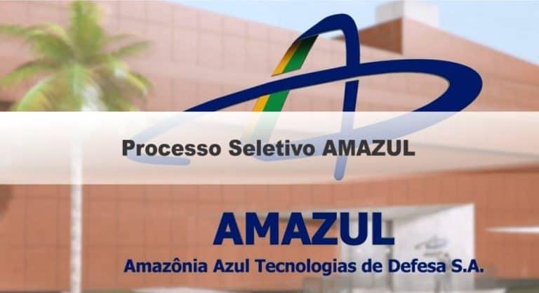Processo Seletivo AMAZUL 2020