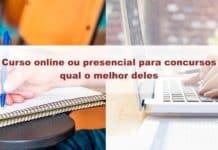 Curso online ou presencial para concursos: qual o melhor deles