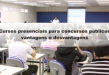 Cursos presenciais para concursos públicos: vantagens e desvantagens