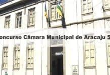 Concurso Câmara Municipal de Aracaju SE