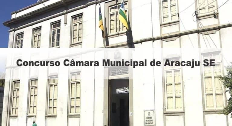 Concurso Câmara de Aracaju SE: Provas suspensas temporariamente