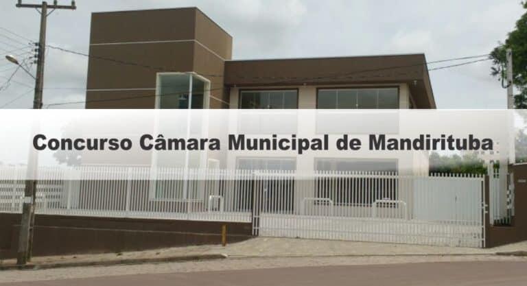 Concurso Câmara Municipal de Mandirituba PR: Inscrições Encerradas