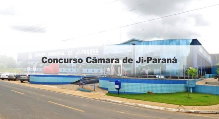 Concurso Câmara de Ji-Paraná RO: Inscrições Encerradas