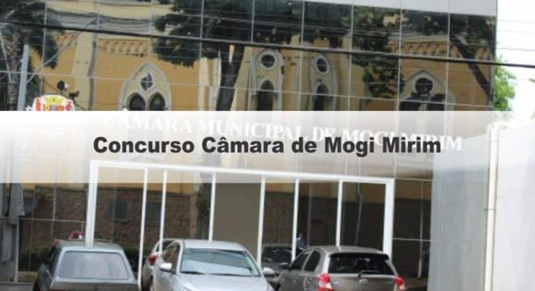 Concurso Câmara de Mogi Mirim SP: Provas previstas para dia 20/12/20