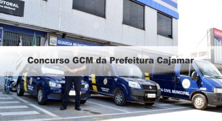 Concurso GCM da Prefeitura Cajamar SP: Inscrições encerradas. Provas Suspensas