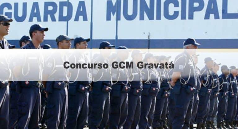 Concurso GCM de Gravatá PE: Inscrições abertas