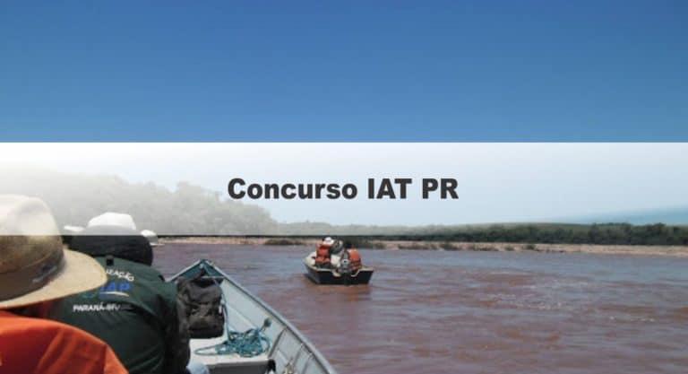 Concurso IAT PR 2020: Inscrições Encerradas