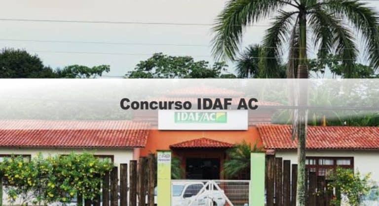 Concurso IDAF AC