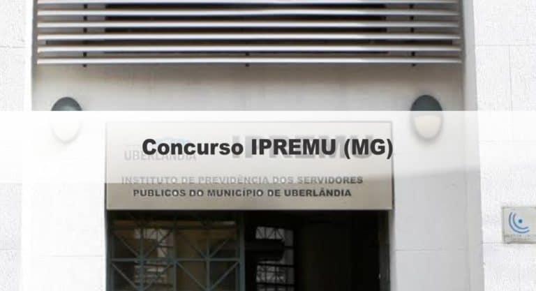 Concurso Público IPREMU: Provas dia 14 de março de 2021
