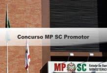 Concurso MP SC Promotor