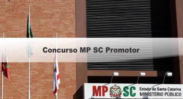 Concurso MP SC Promotor: Inscrições abertas! Remuneração de até R$ 28.883,98