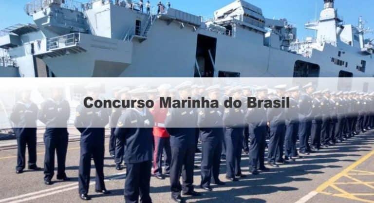 Concurso Marinha do Brasil 126 VAGAS: Provas em Setembro!