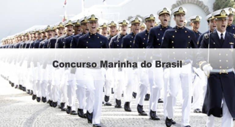 Concurso Marinha do Brasil Quadro Complementar: Provas em Setembro! 10 vagas