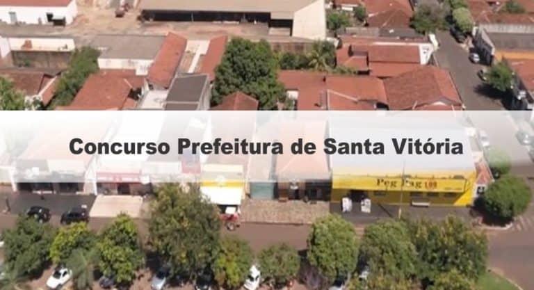 Concurso Prefeitura Santa Vitória (MG) 2020: Saiu Edital com 365 Vagas