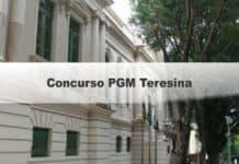 Concurso PGM Teresina