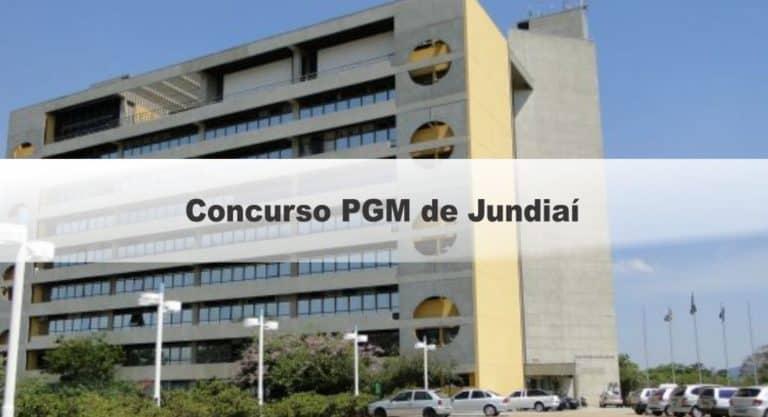Concurso PGM de Jundiaí SP: Inscrições abertas