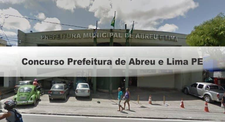Concurso Prefeitura de Abreu e Lima PE: Provas Adiadas!