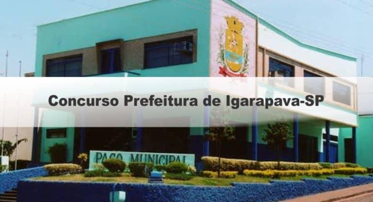 Concurso Prefeitura de Igarapava-SP 2020: Suspensão das Provas!