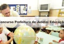 Concurso Prefeitura de Jundiaí SP Educação