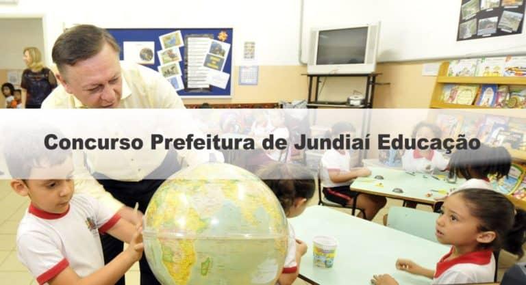 Concurso Prefeitura de Jundiaí SP Educação: Suspenso Temporariamente