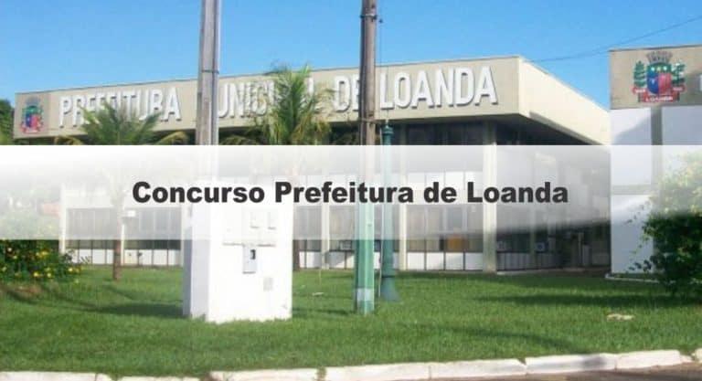 Concurso Prefeitura de Loanda PR: Suspenso