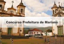 Concurso Prefeitura de Mariana MG