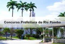 Concurso Prefeitura de Rio Pomba MG