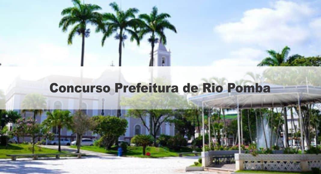 Concurso Prefeitura de Rio Pomba MG: Saiu o Edital com 23 vagas