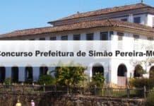 Concurso Prefeitura de Simão Pereira-MG