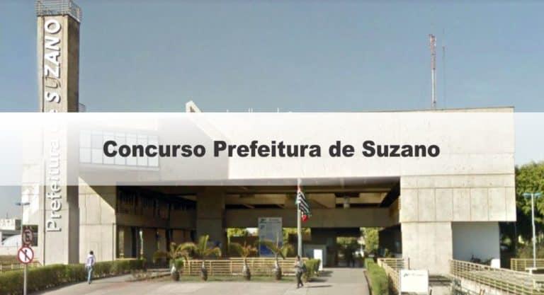 Concurso Prefeitura de Suzano SP: Inscrições Encerradas