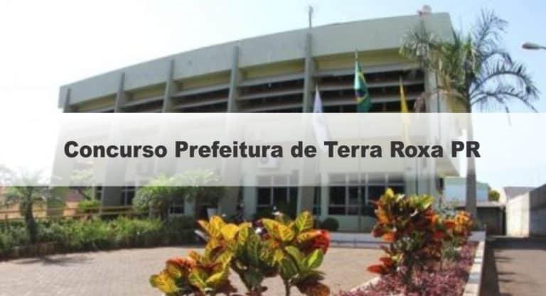 Concurso Prefeitura de Terra Roxa PR: Inscrições Encerradas