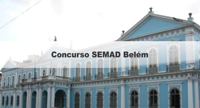 Concurso SEMAD Belém PA: Aplicação das provas suspensas!