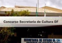 Concurso Secretaria de Cultura DF