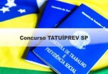 Concurso TATUÍPREV SP